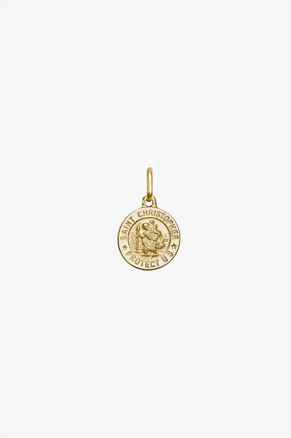ANINE BING St. Christopher Charm in Gold  - 14k Yellow Gold - Size: One Size