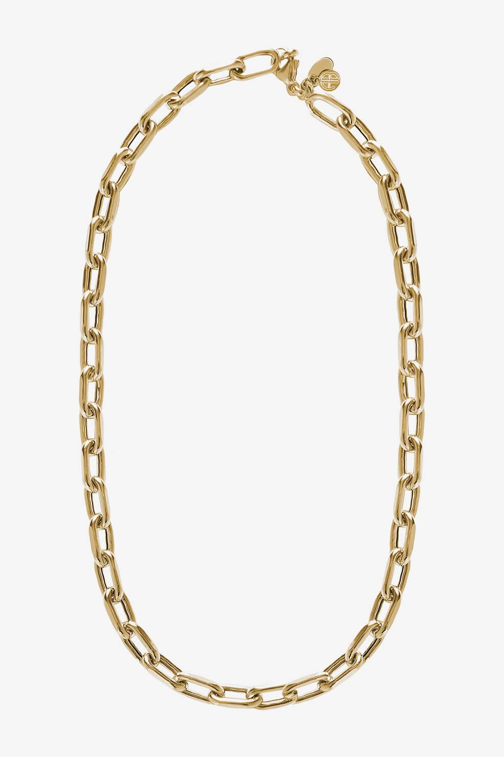 ANINE BING Link Necklace in Gold  - 14k Yellow Gold - Size: One Size