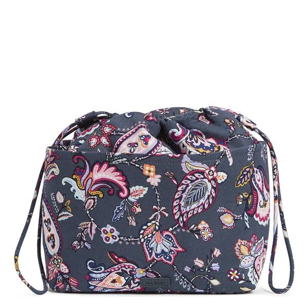 Pink Vera Bradley Pocket Ditty Bag in Felicity Paisley Pink