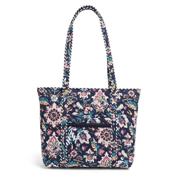 Blue Vera Bradley Harry Potter™ Small Tote Bag in Home to Hogwarts™ Blue