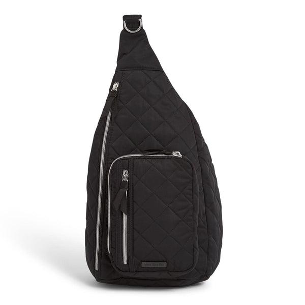 Black Vera Bradley Sling Backpack in Black