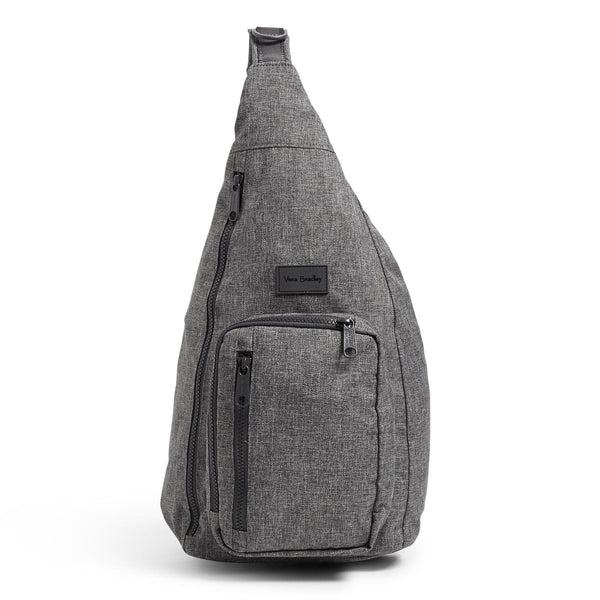 Gray Vera Bradley Sling Backpack in Gray