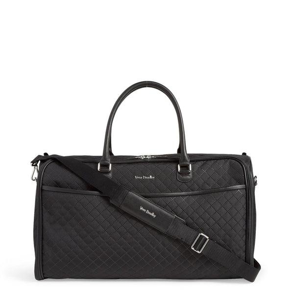 Black Vera Bradley Convertible Garment Bag in Black