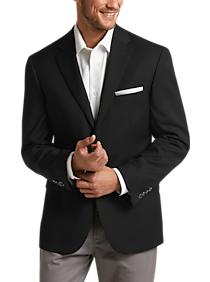 Pronto Uomo Black Modern Fit Sport Coat