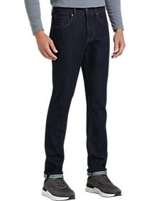 Collection by Michael Strahan Gramercy Dark Blue Wash Straight Fit Jeans