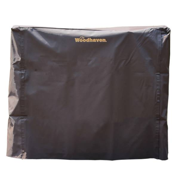 Woodhaven Brown Firewood Rack Full Cover - 4'