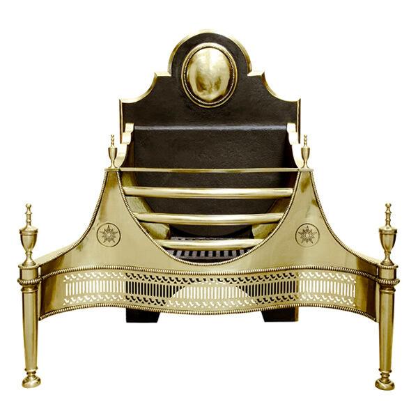 Alchemy Croome Fire Basket - Brass