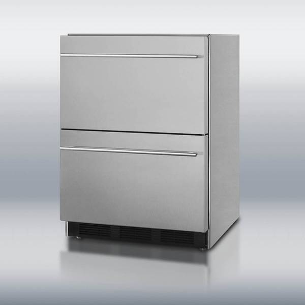 Summit Appliance Summit SP6DS2DOS7 Double Drawer Refrigerator