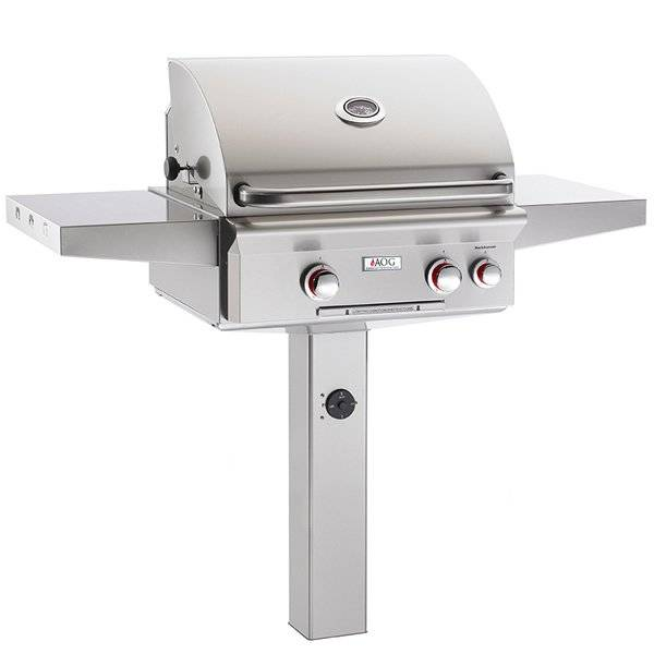 """American Outdoor Grill (AOG) AOG T-Series In-Ground Mount Gas Grill - 24"""""""