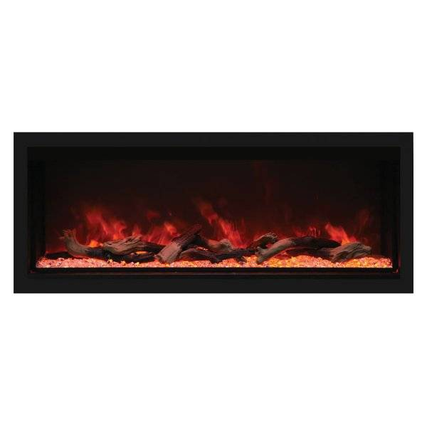 Amantii Remii Extra Tall Indoor/Outdoor Built-In Electric Fireplace