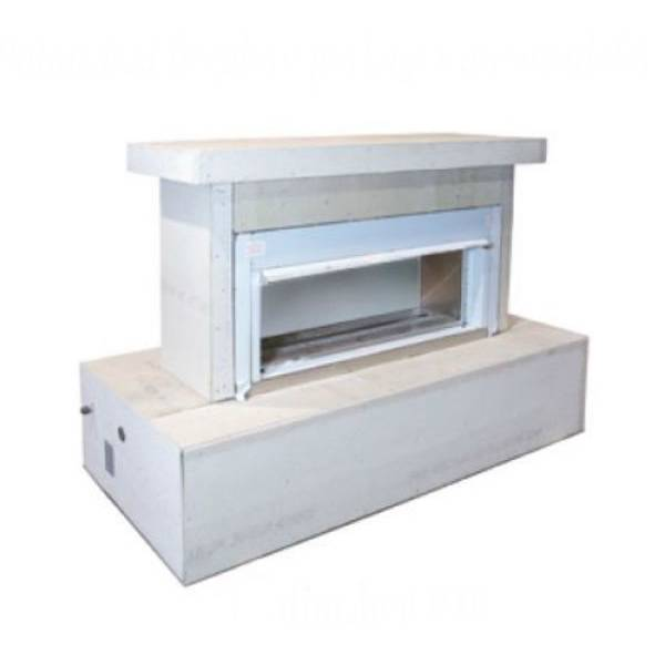 FlameCraft Ready To Finish Contemporary Outdoor Gas Fireplace - LP