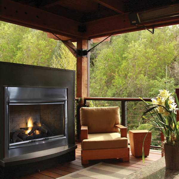 Superior Products Superior VRE4300 Gas Outdoor Fireplace