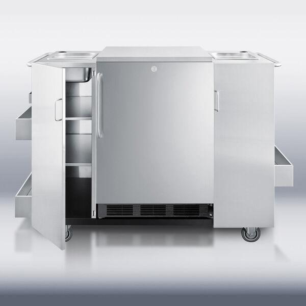 Summit Appliance Summit CARTOS Serving Cart
