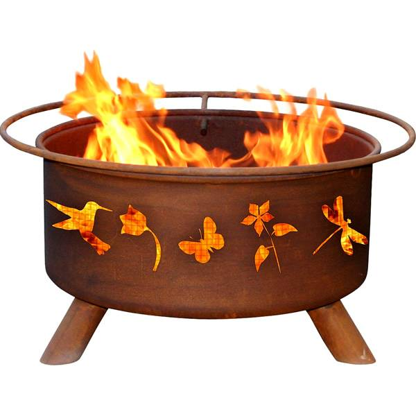 Patina Products Flower & Garden Fire Pit