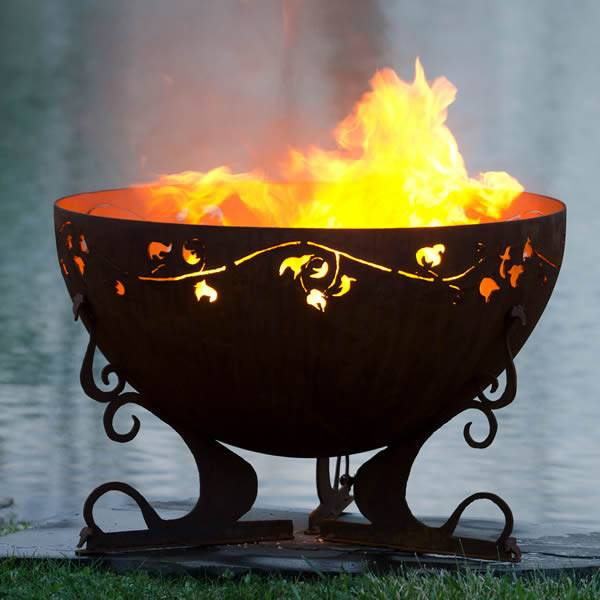 The Fire Pit Gallery Fire Pit Gallery Ivy Garden Fire Pit