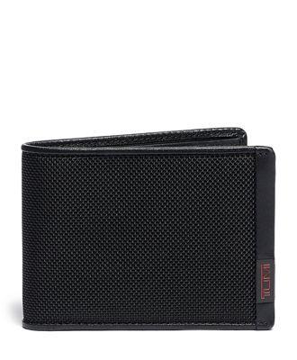 TUMI ID Lock™ Double Billfold  - Black - Size: one size
