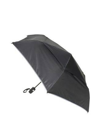 tumi Medium Auto Close Umbrella  - Black - Size: one size