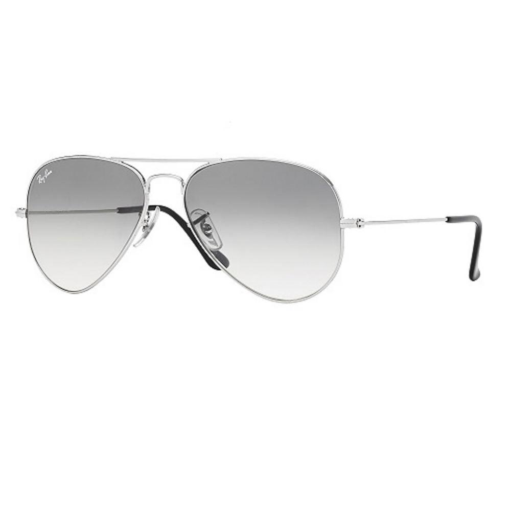 Ray-Ban Aviator Sunglasses Silver Misc Accessories No Size