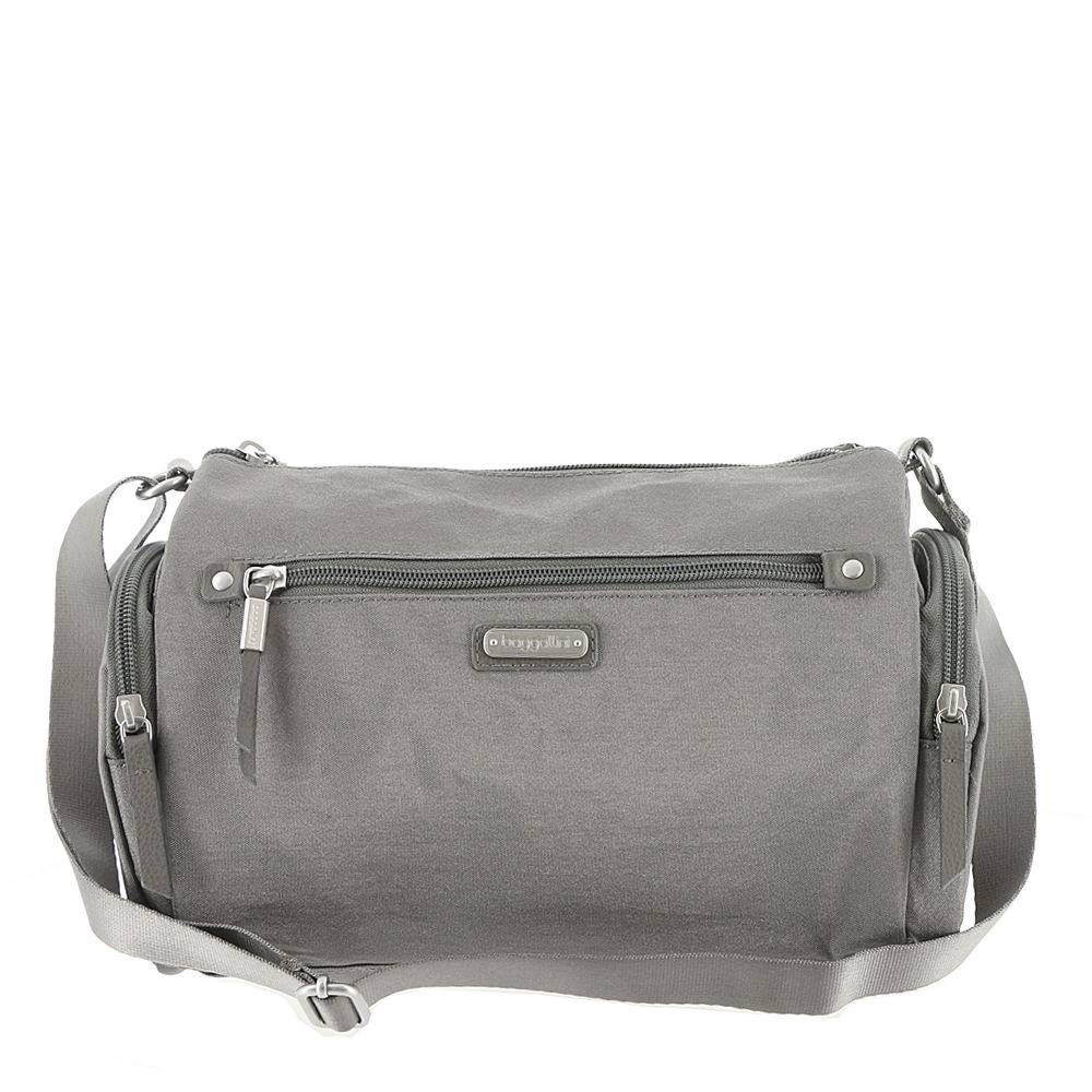 Baggallini Road Trip Hobo with RFID-Blocking Phone Wristlet Grey Bags No Size