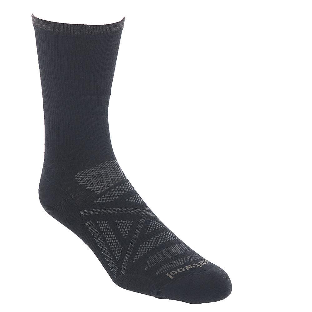 Smartwool Men's PhD Outdoor Ultra Light Crew Socks Black Socks M