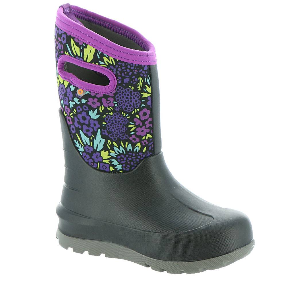 BOGS Neo-Classic NW Garden Girls' Toddler-Youth Black Boot 12 Toddler M