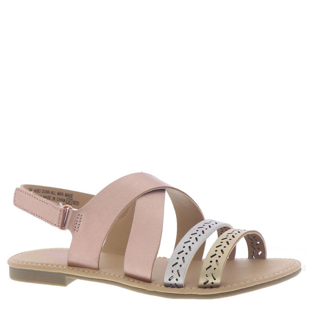 Rachel Shoes Duna Girls' Toddler-Youth Multi Sandal 4 Youth M