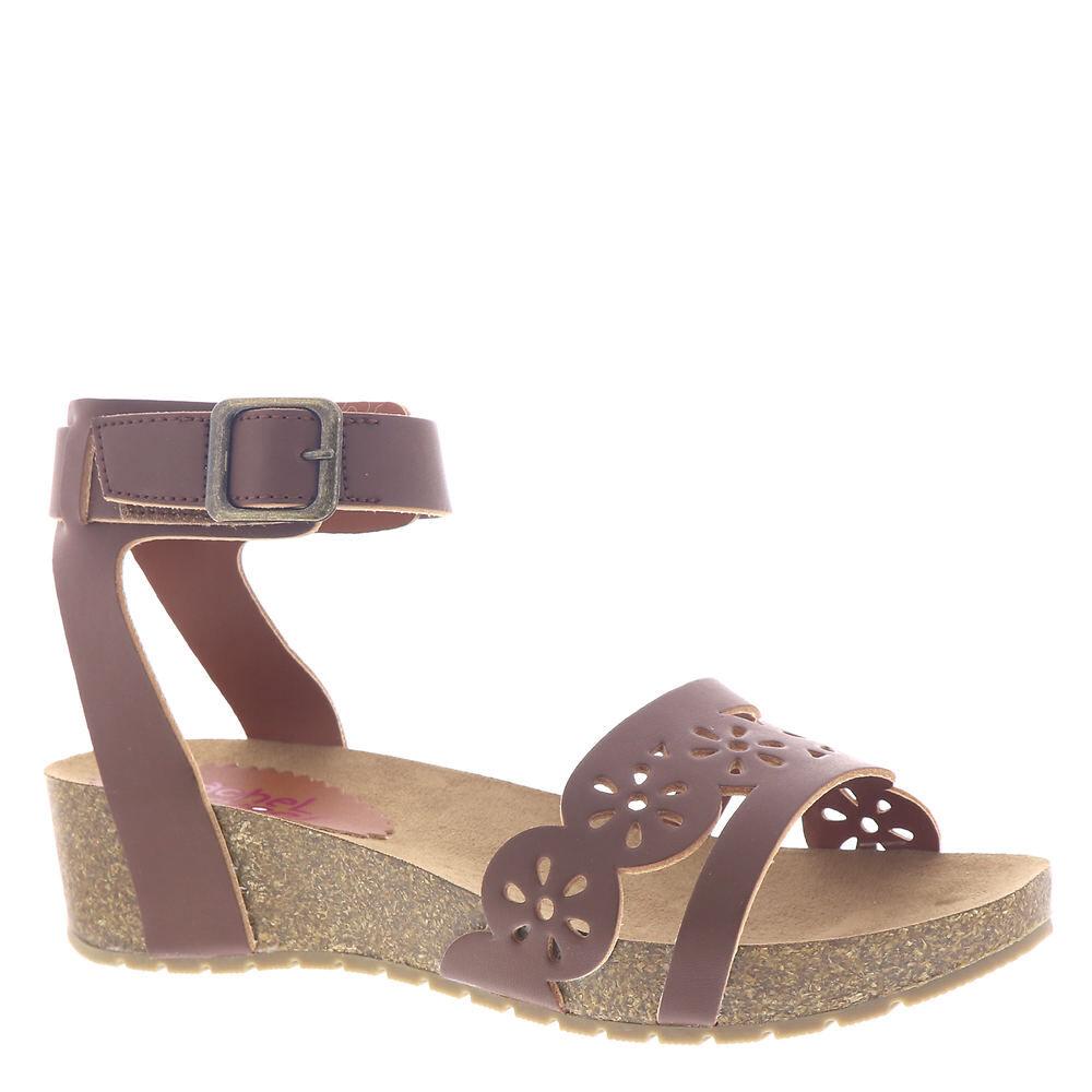 Rachel Shoes Makenna Girls' Toddler-Youth Brown Sandal 3 Youth M