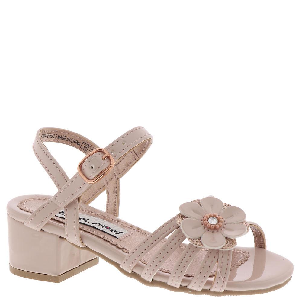 Rachel Shoes Brittany Girls' Toddler Pink Sandal 7 Toddler M