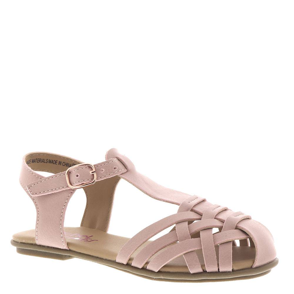 Rachel Shoes Lil Nora Girls' Infant-Toddler Pink Sandal 10 Toddler M