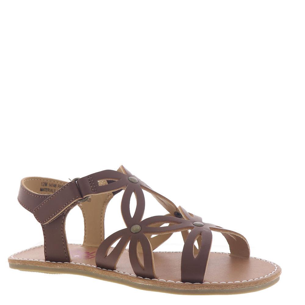 Rachel Shoes Pabla Girls' Toddler-Youth Brown Sandal 12 Toddler M