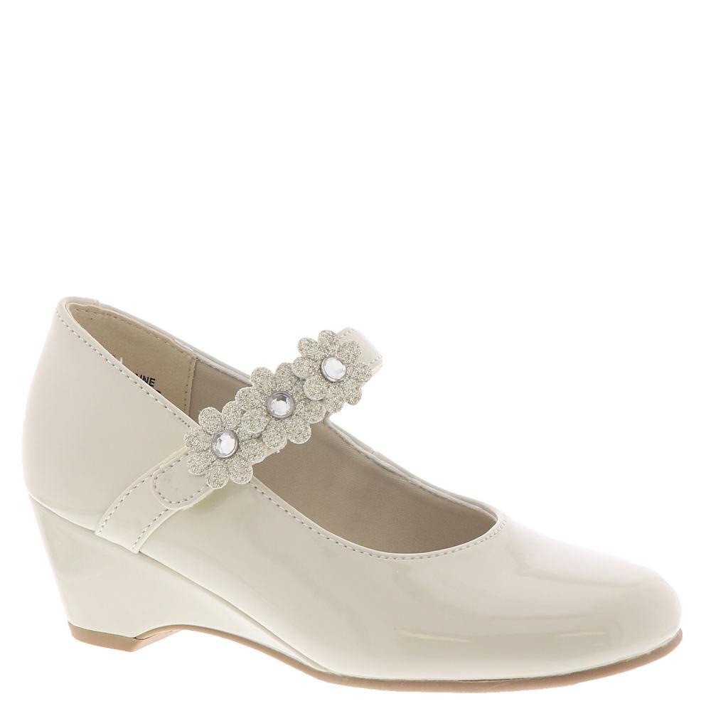 Rachel Shoes Elaine Girls' Toddler-Youth Bone Pump 12 Toddler M