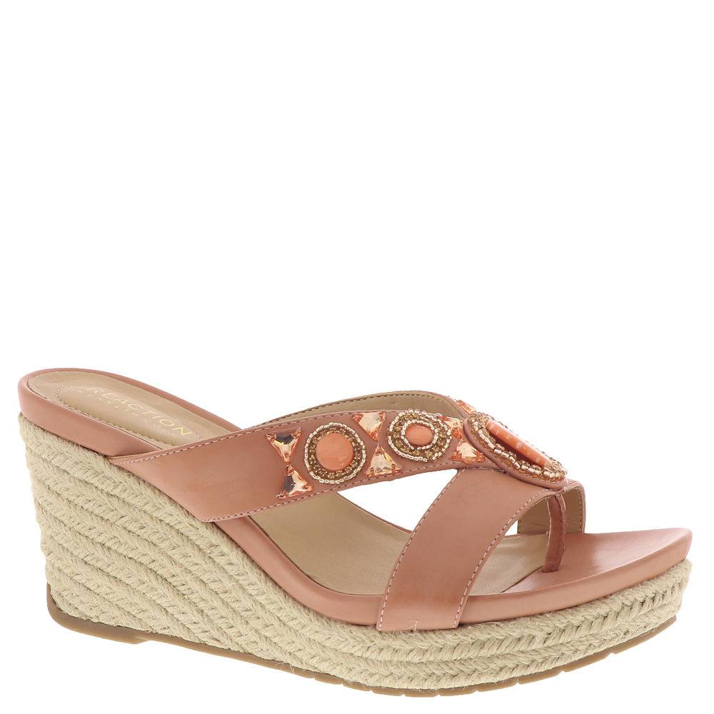 Kenneth Cole Reaction Card Glam Women's Pink Sandal 6.5 M