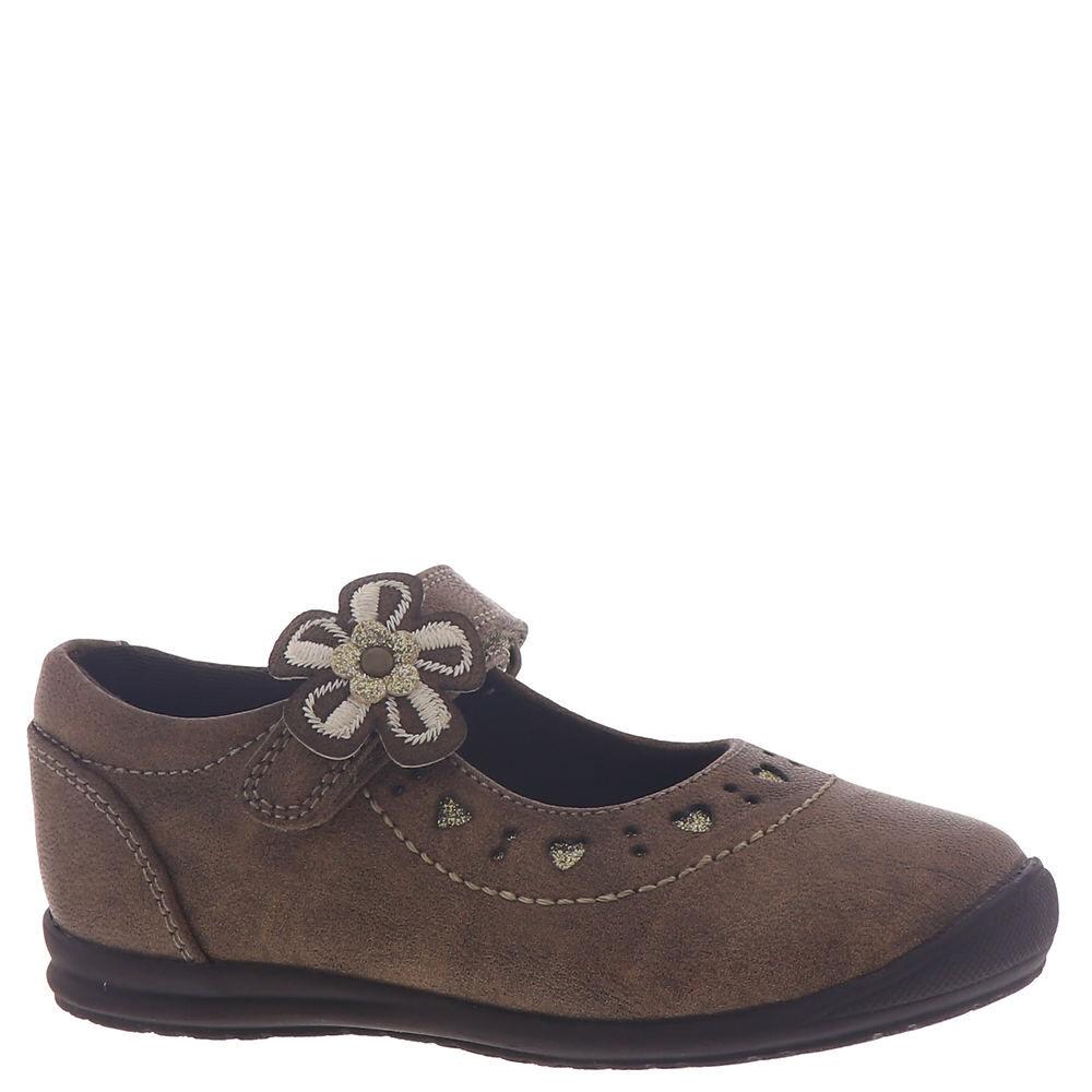 Rachel Shoes Kyla Girls' Toddler Tan Slip On 8 Toddler M