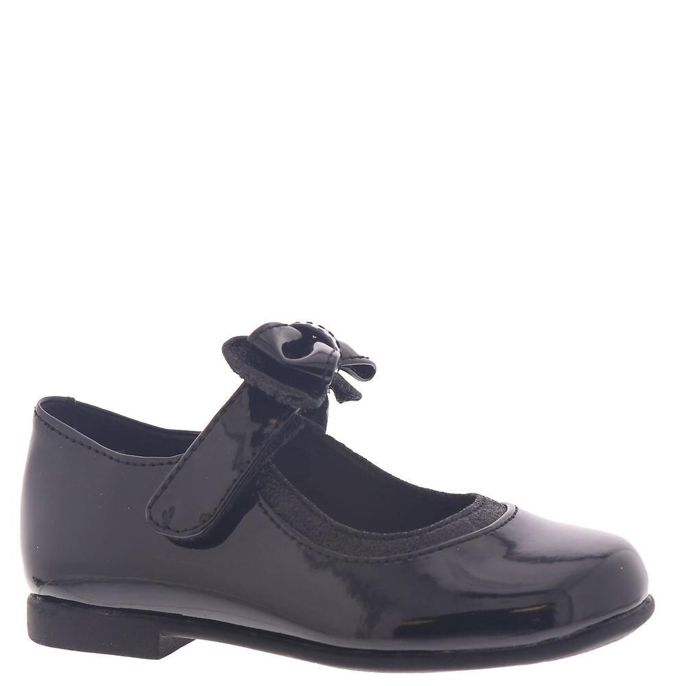 Rachel Shoes Lil Penny Girls' Infant-Toddler Black Slip On 6 Toddler M