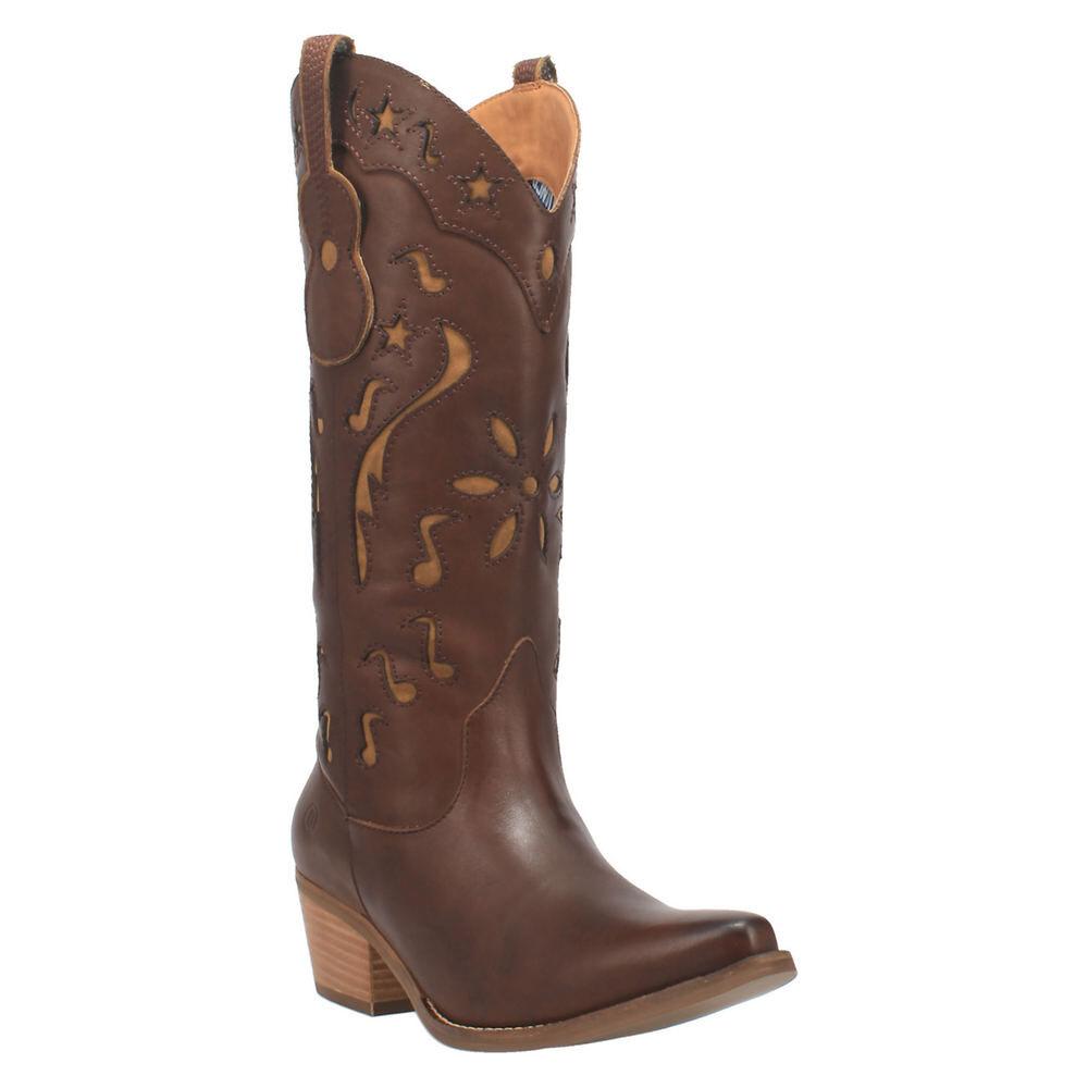 Dingo Music City Women's Brown Boot 7.5 M