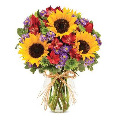 From You Flowers Flowers Delivery - Bountiful Floral Garden Bouquet - Regular