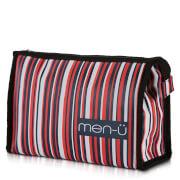 men-u men-ü Stripes Toiletry Bag – Blue/Red/White