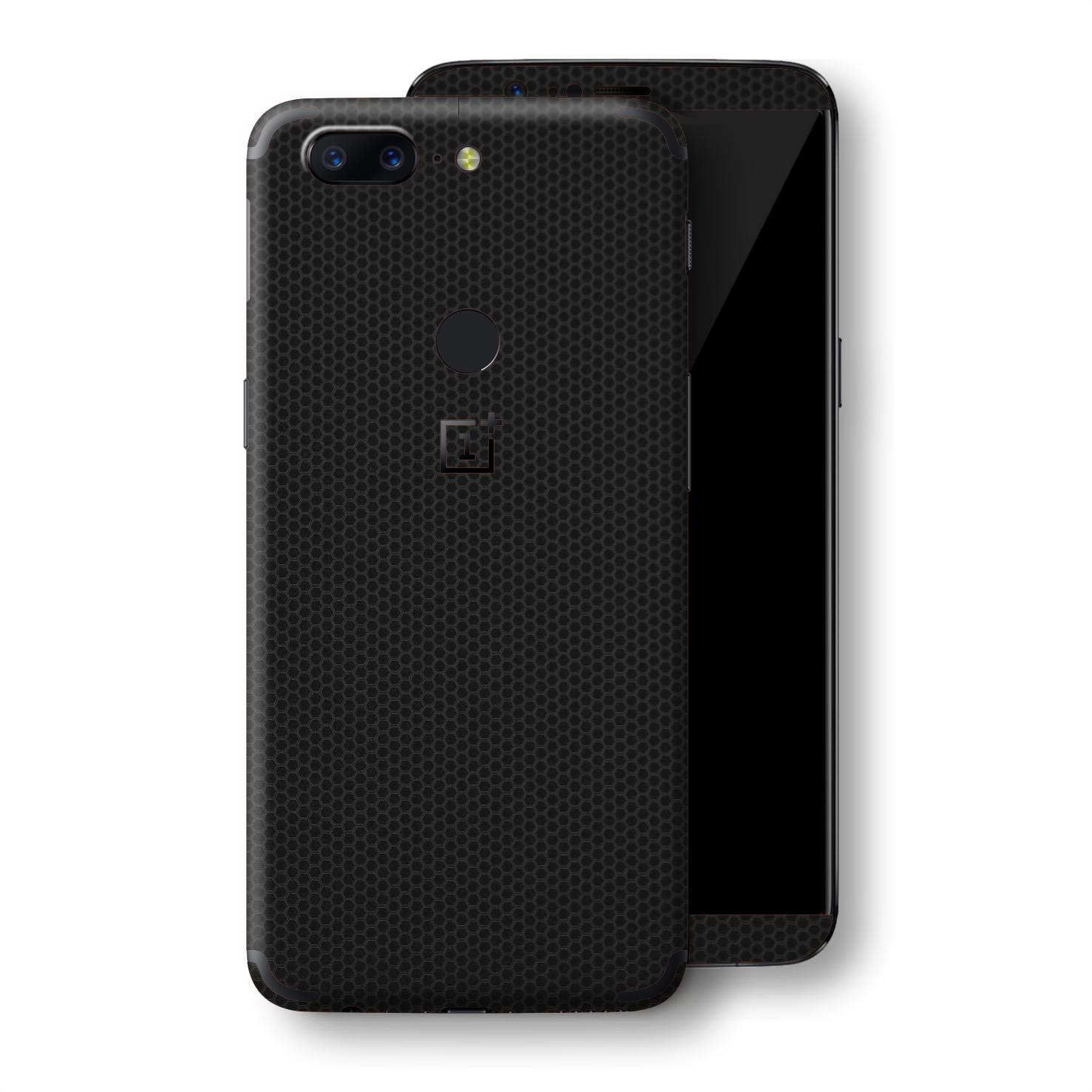 EasySkinz OnePlus 5T LUXURIA Black MATRIX Skin