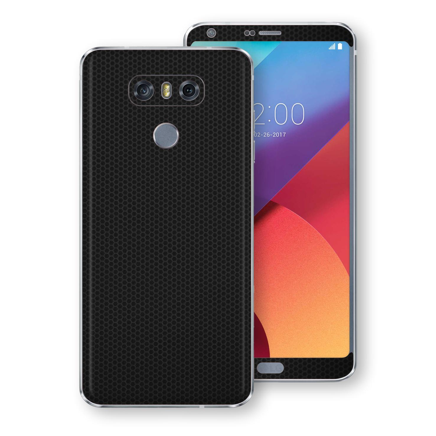 EasySkinz LG G6 LUXURIA Black MATRIX Skin