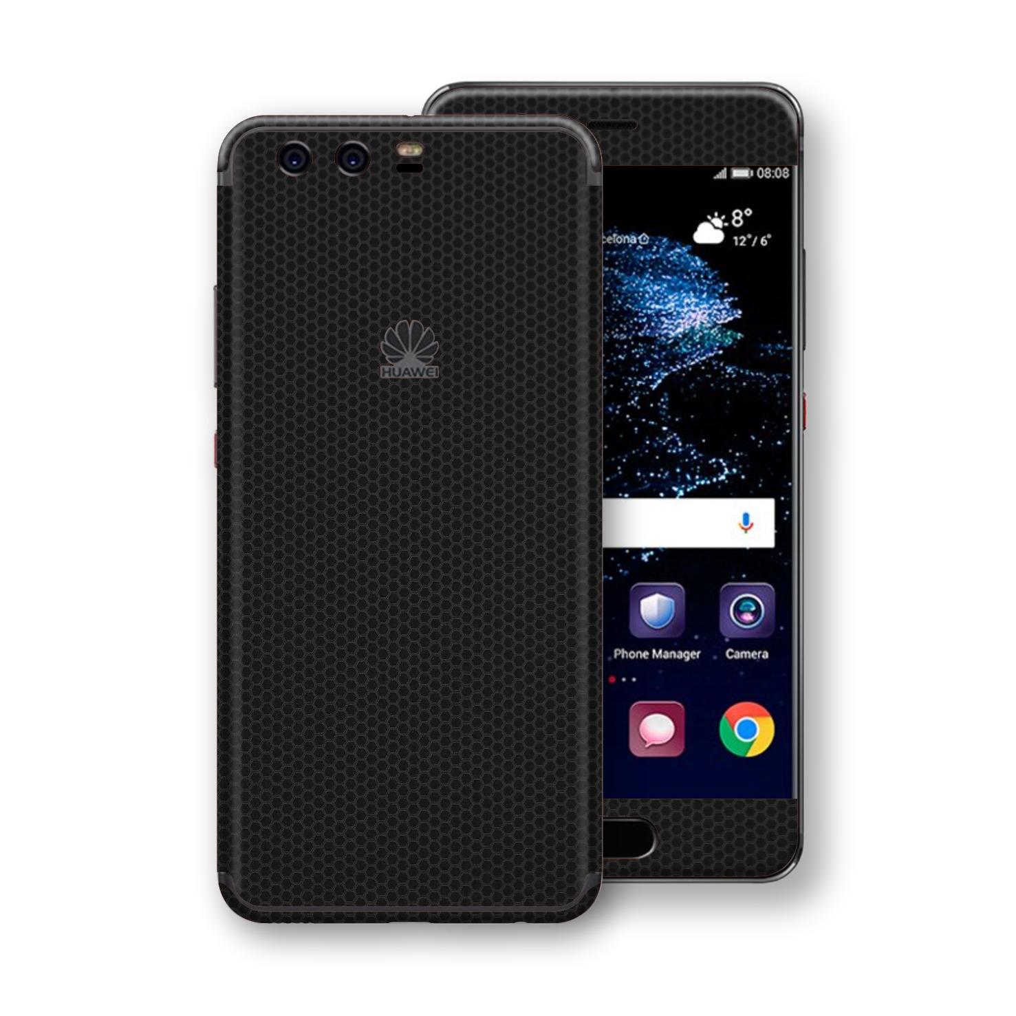 EasySkinz Huawei P10 LUXURIA Black MATRIX Skin