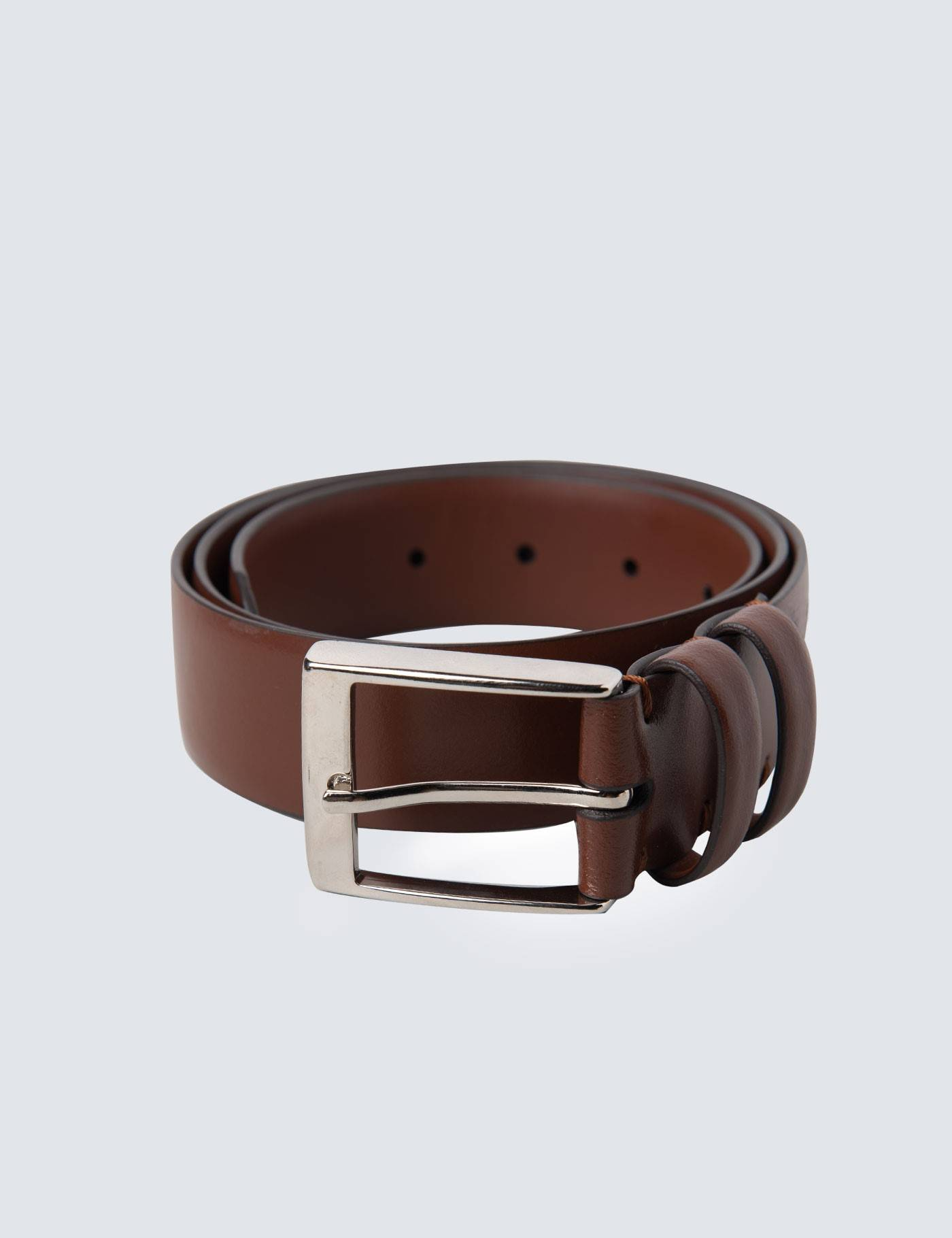 Hawes & Curtis Men's Leather Belt in Tan 2XL