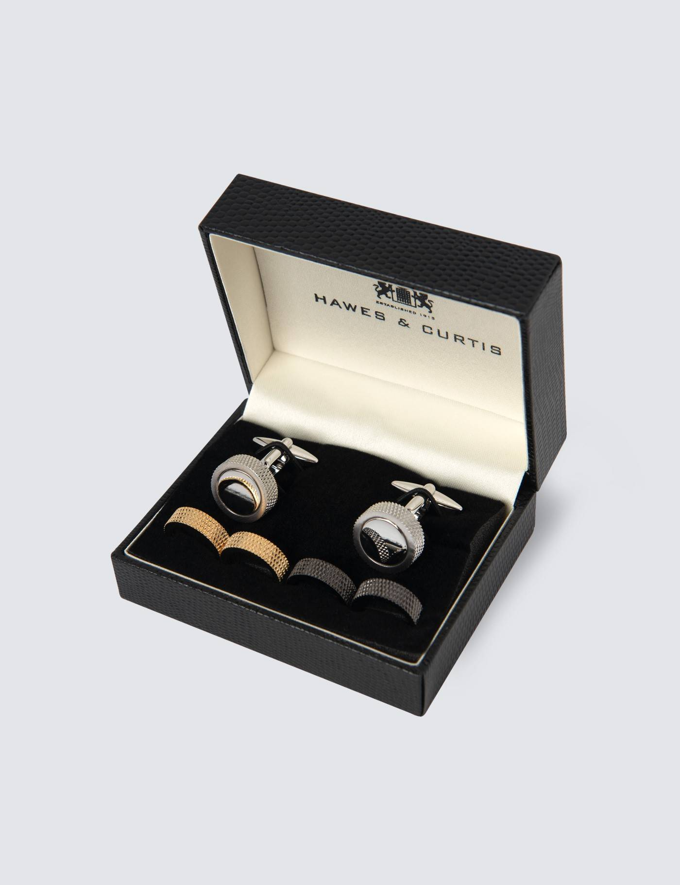 Hawes & Curtis Men's Multi Colour Interchangeable Cufflink Gift Set in Assorted
