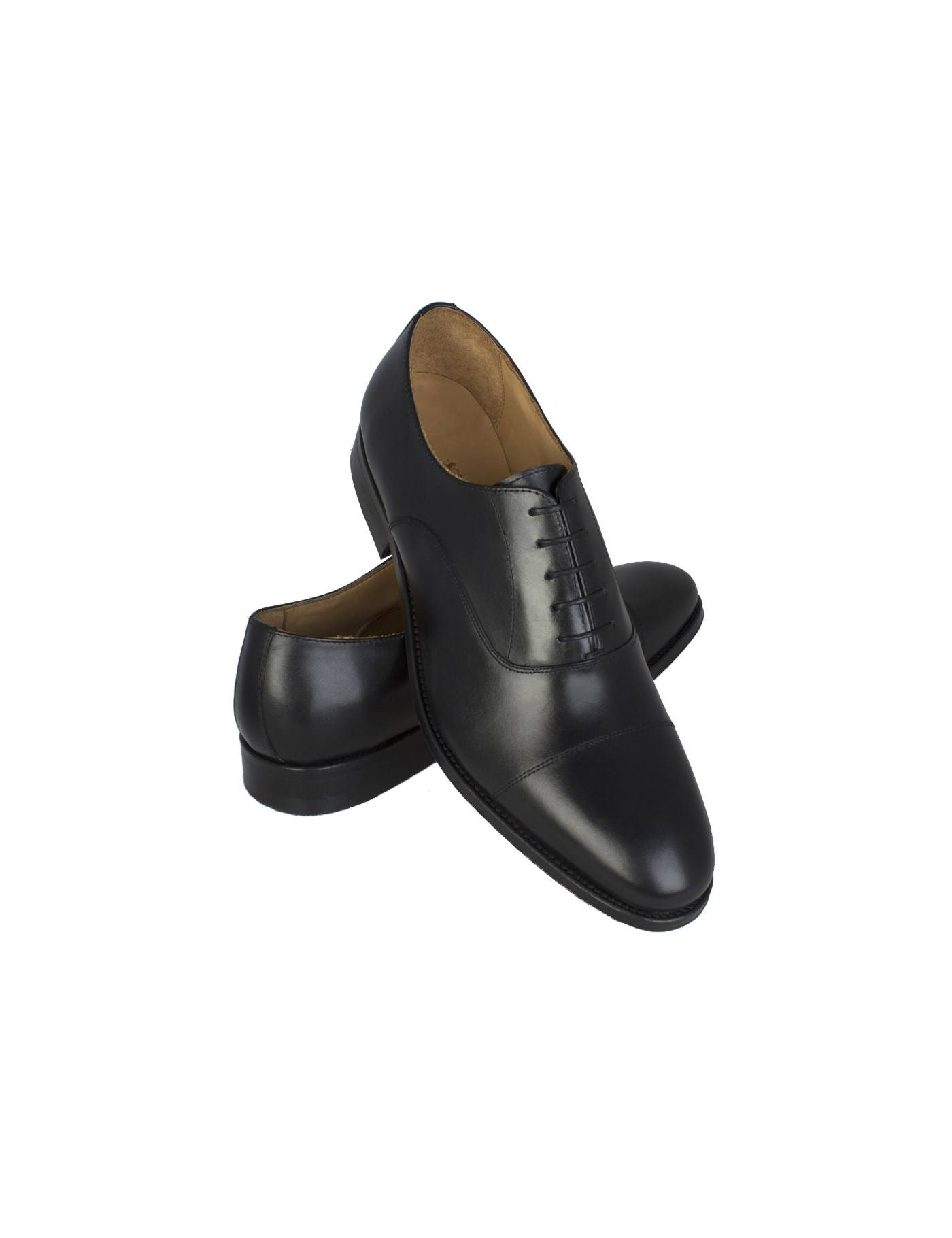 Hawes & Curtis Men's Leather Oxford Shoes in Black Size 9.5 Hawes & Curtis