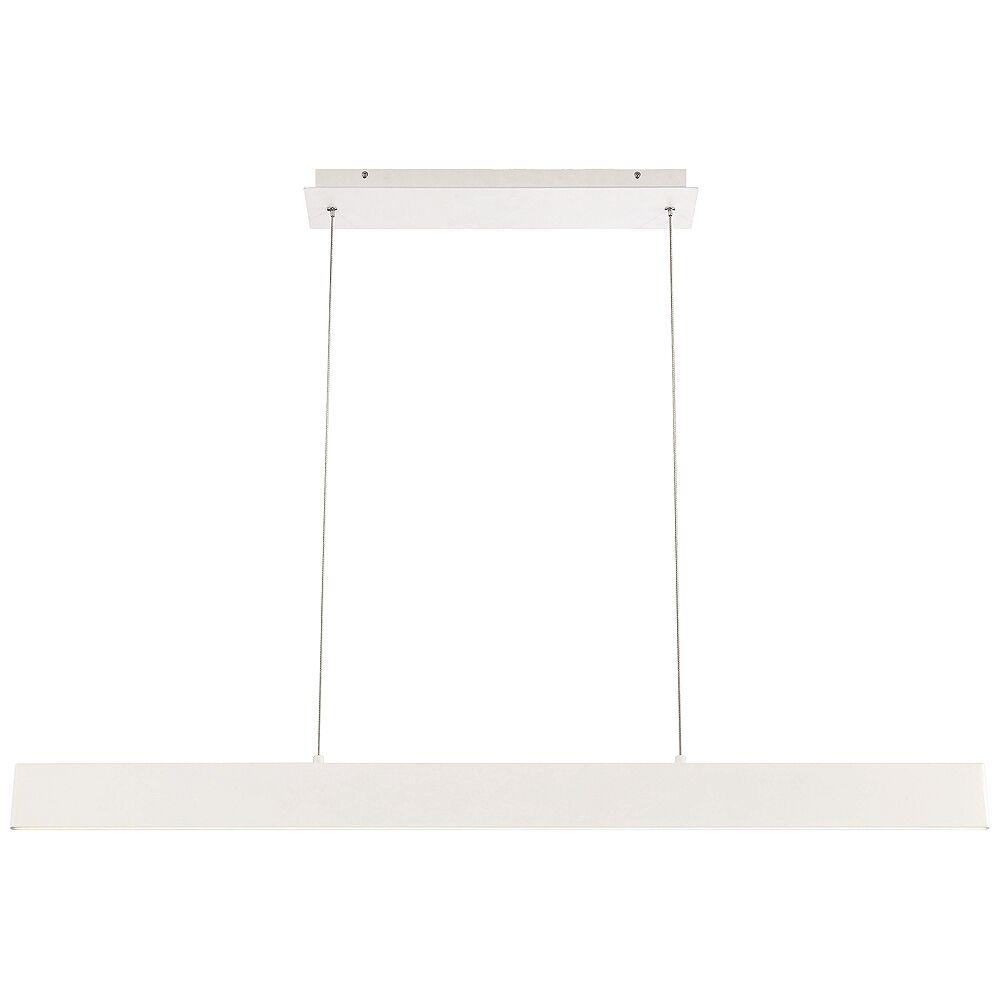 """Eurofase Rogers 46""""W White LED Kitchen Island Light Pendant - Style # 35A84"""
