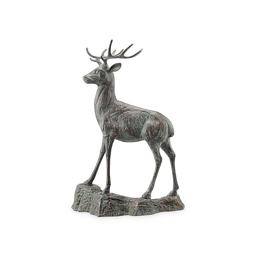 "Universal Lighting and Decor Forest Prince 41 1/2"" High Outdoor Garden Deer Statue - Style # 71F00"