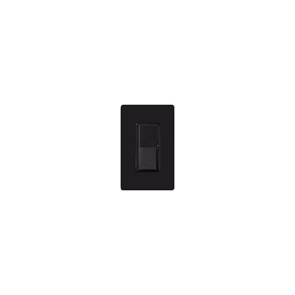 Lutron Diva Black Electronic Single Pole Preset Dimmer - Style # 61161