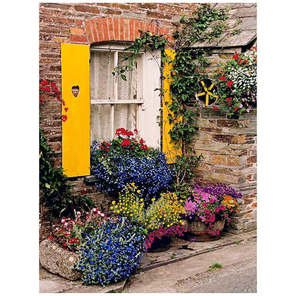 "West of the Wind Polperro 40"" High All-Weather Indoor-Outdoor Wall Art - Style # 10M26"