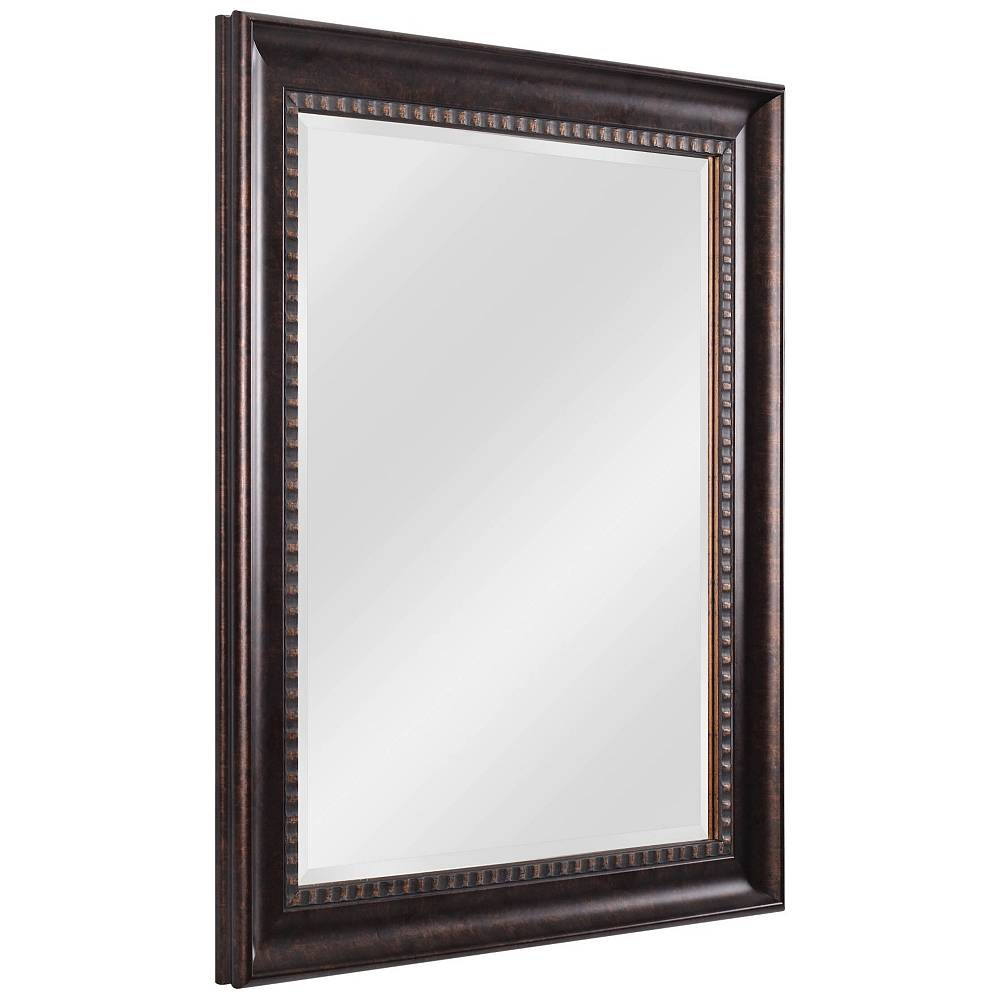 "Kenroy Home Amiens Bronze 30"" x 36"" Wall Mirror - Style # 62F68"