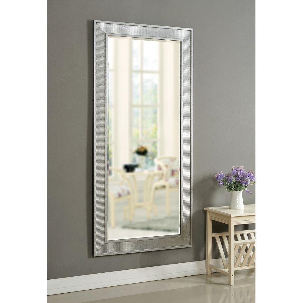 "Kenroy Home Galavant Galvanized 31 1/2"" x 65 1/2"" Floor Mirror - Style # 83P99"