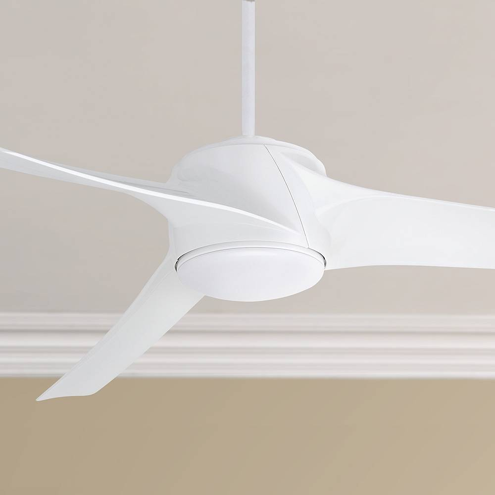 "Emerson 60"" Emerson Luray Eco Appliance White LED Ceiling Fan - Style # 22E54"
